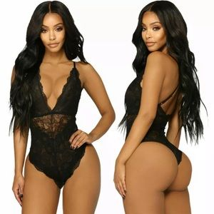 Other - NEW!! 🌟 SEXY BLACK LACE BODYSUIT LINGERIE